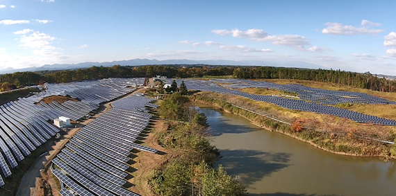 Appearance of solar power generation business