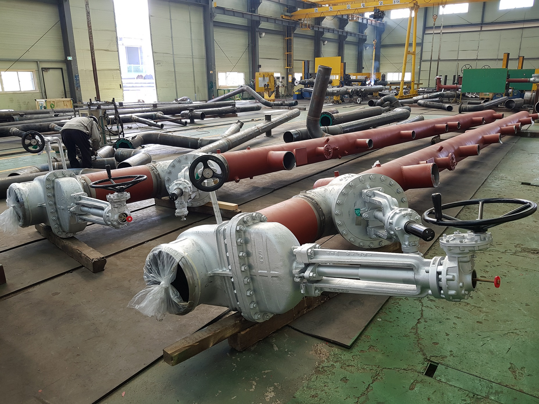Prefabricated piping 01