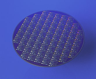Patterned Test wafers